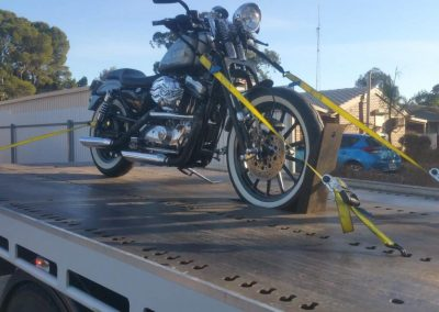 Broken Down Motocycle Towing Adelaide