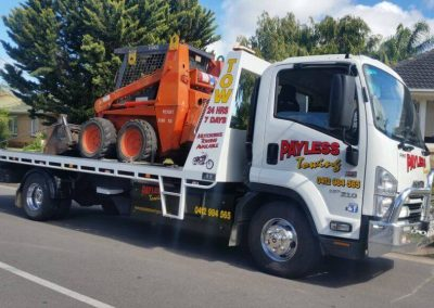 Earth Moving Equipment Towing