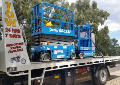 Electric Scissor Lift Towing