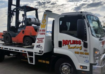 Mobile Lifting Forklift Towing