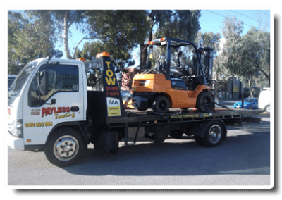 Mobile Forklift Breakdown Towing Service