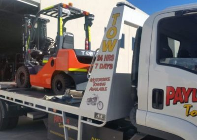 Heavy Lifting Forklift Towing